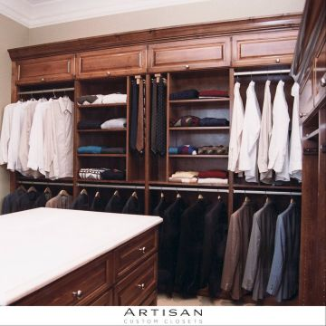 ... Custom Closet Trends Two Tone Colors On The Rise