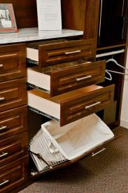 ... Hamper Styles To Match Your Custom Closet Design