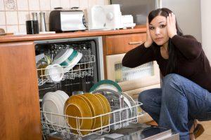 leaky dishwasher
