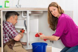 kitchen sink leak