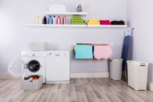 laundry room water damage