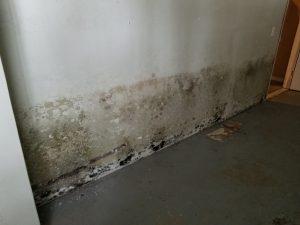 hot water damage