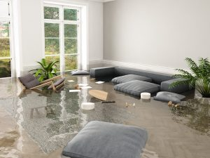 water damage to my house