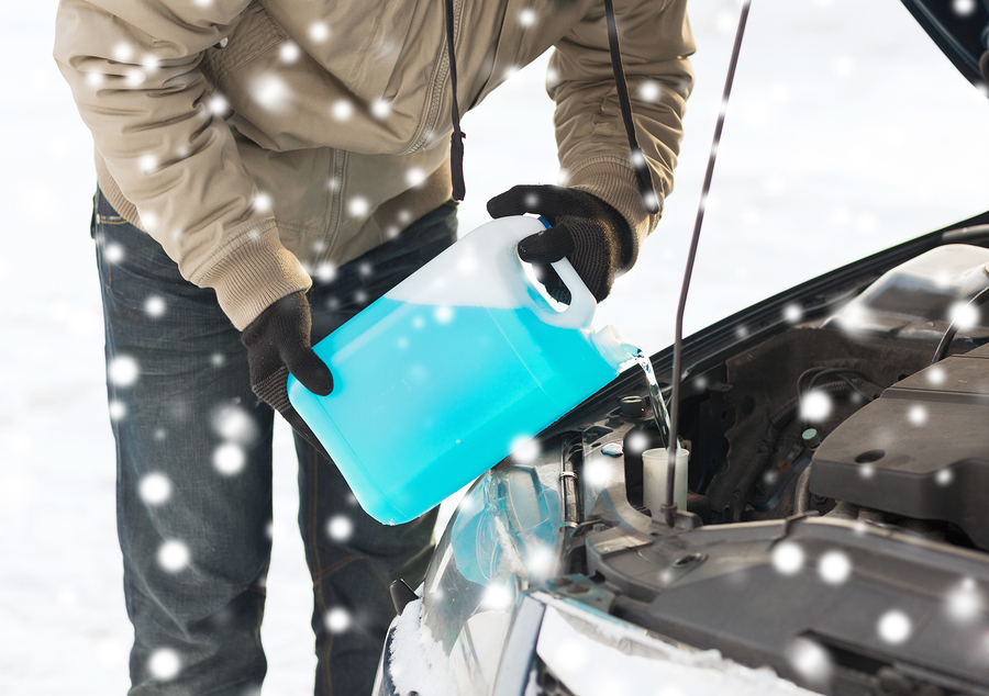 How do you determine the coolant capacity of your vehicle?