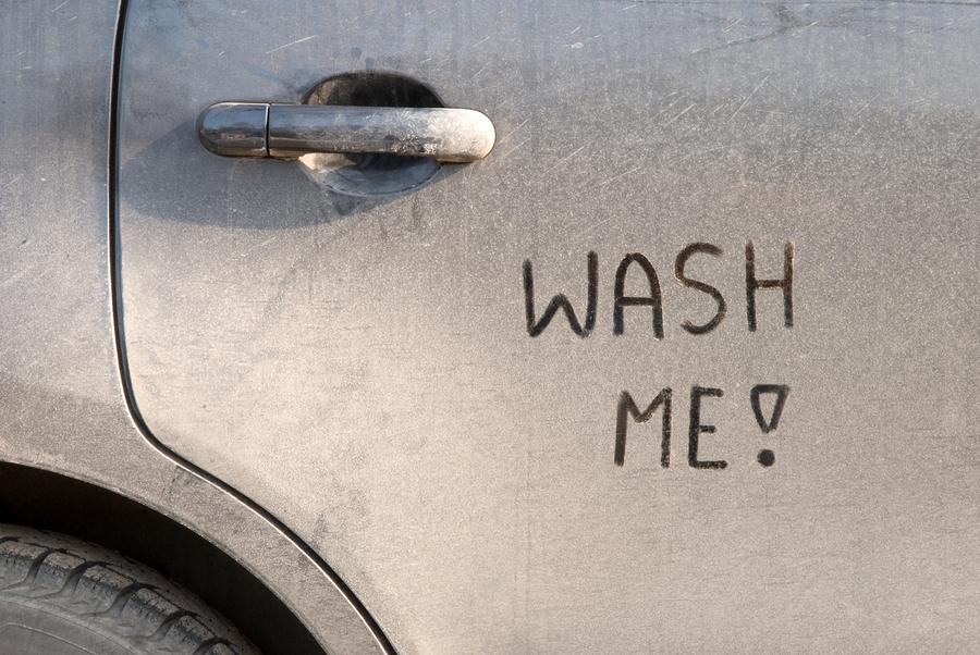 Dirt Can Hurt More Than A Clean Car on Art Clip Crash Car