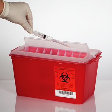 Regulated Waste Management Red Bags Amp Sharps Containers
