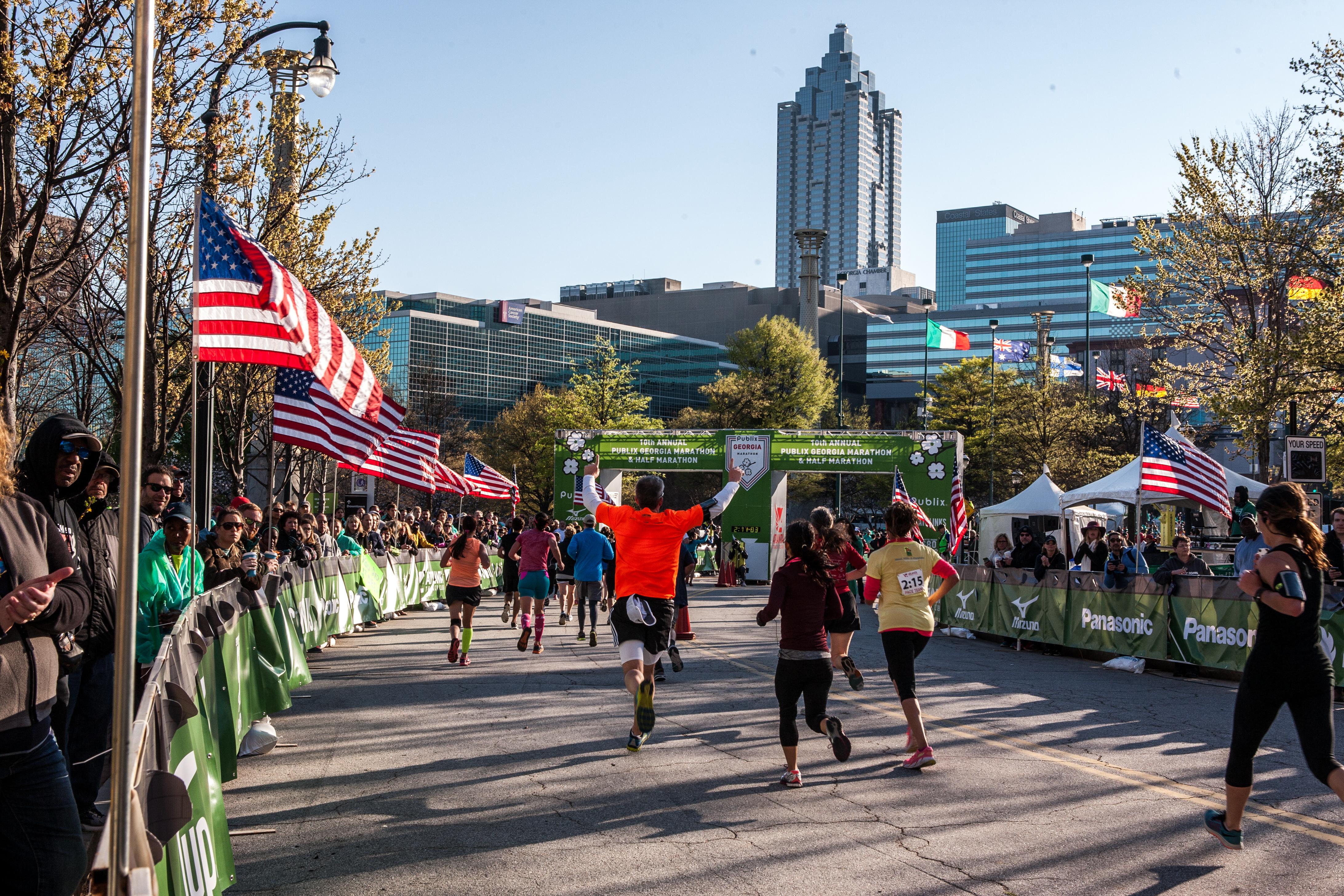 Publix Georgia Marathon - Joaquin Lara