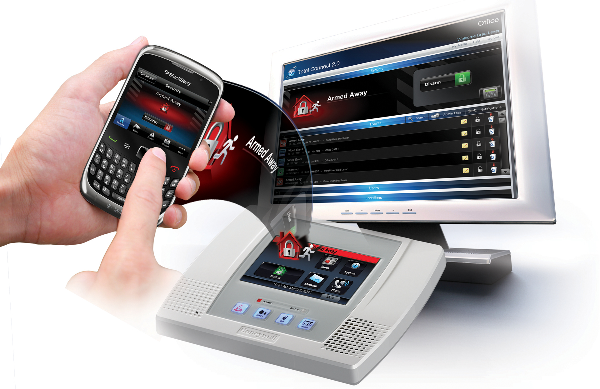 Technology brings you closer to home emc security for Emc security systems