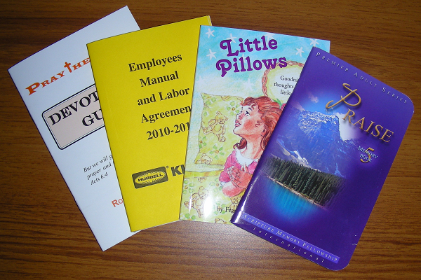 Examples of Pocket-Sized Booklets