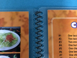 the practical alternative to folded restaurant menus formax printing