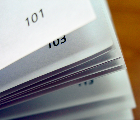 Book Printing: Five Tips for adding Page Numbers to your