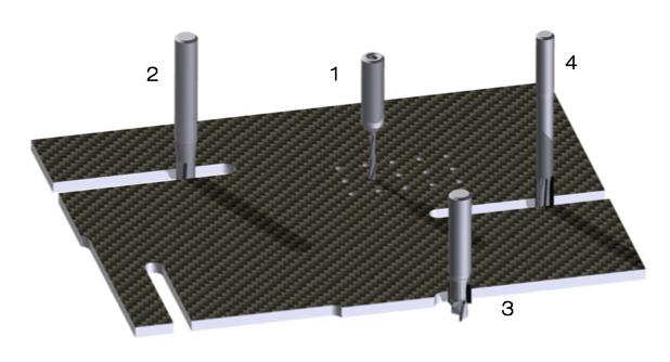 guhdo carbon composite cut cutting