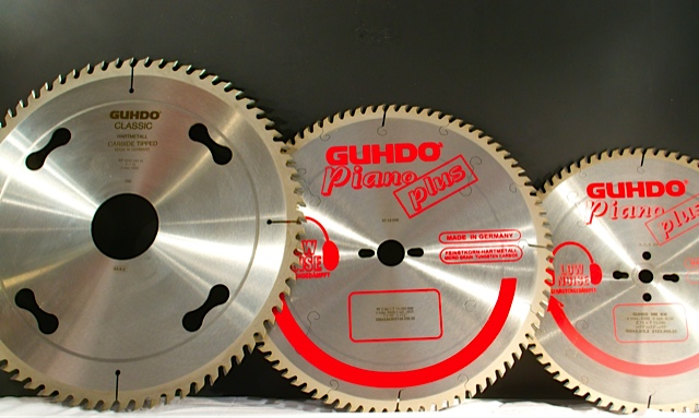 GUHDO precision saw blades