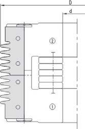 Series 4075 Glue Joint Insert Cutter