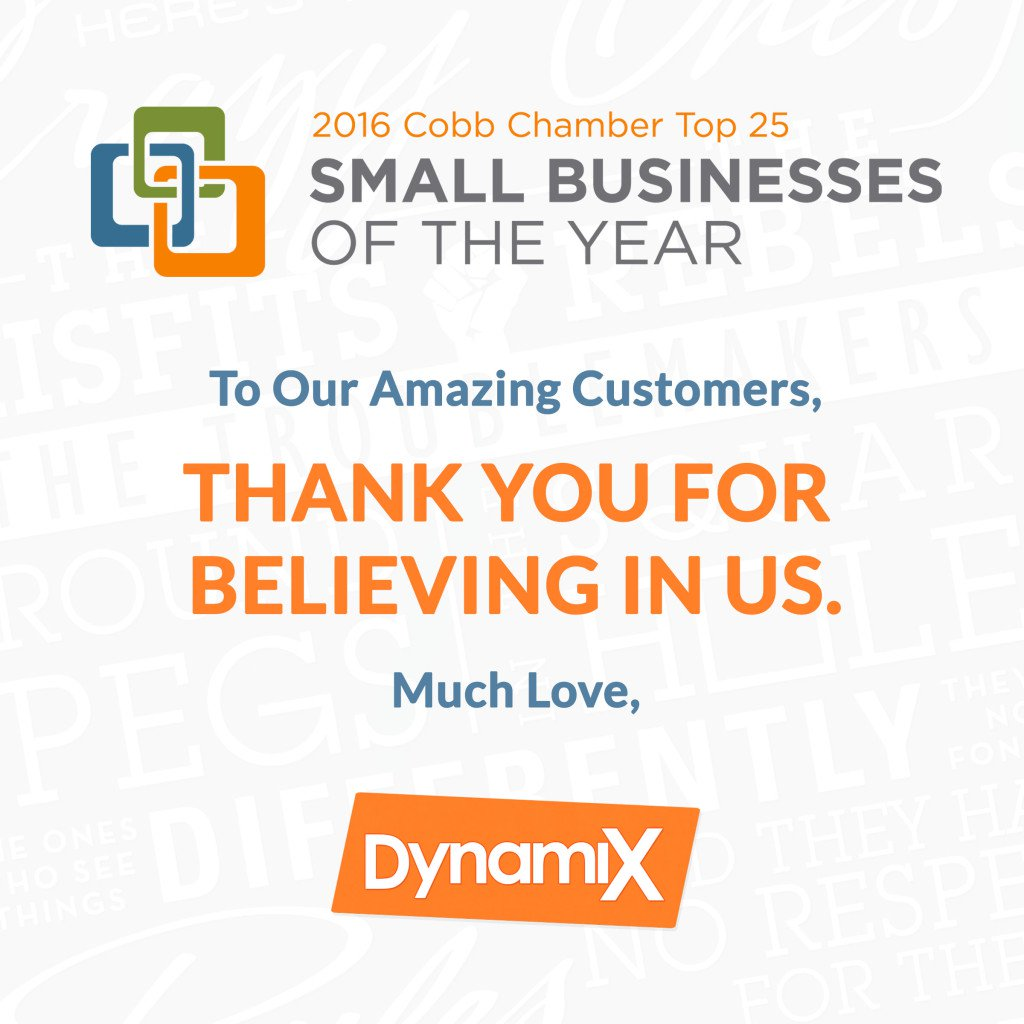 DynamiX Small Business Of The Year