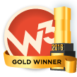 2016 W3 Award Winner Gold