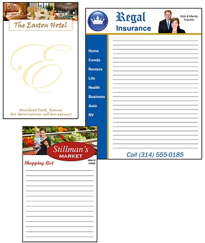 Promotional Printing: Five Benefits of Custom-Printed Note Pads   Formax  Printing