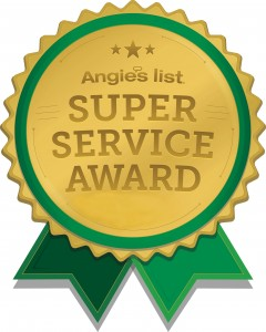 Angie's List Super Service Award Logo