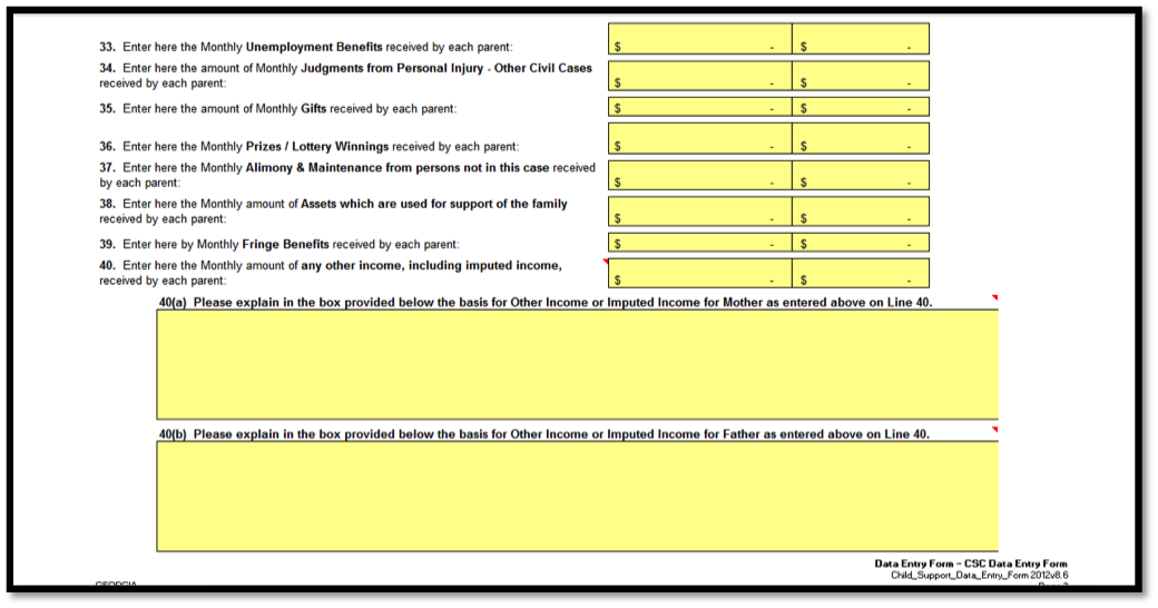 Child Support Worksheet Utah. Worksheets. Releaseboard ...