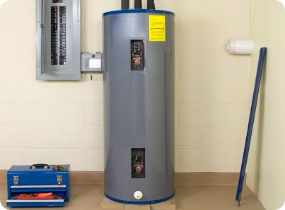 Water Heater in an Atlanta home